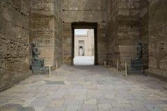 Temple of Medinet Habu, dedicated to Rameses III. - UNESCO World Royalty Free Stock Photography