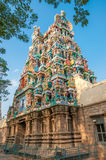 Temple in Meenakshi Amman Complex Royalty Free Stock Image