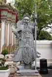 Temple menteur de Wat Pho Bouddha à Bangkok, Thaïlande - détails photo stock