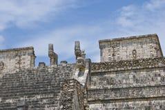 Temple Mexique Photographie stock