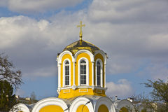 Temple of Michael and Theodore in Chernigov Royalty Free Stock Images