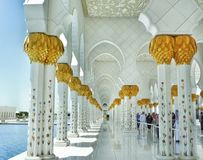 Temple. At middle east Royalty Free Stock Images