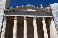 Temple of Minerva. Royalty Free Stock Photography