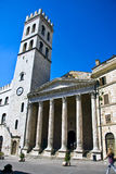 Temple of Minerva in Assisi Stock Images
