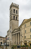 Temple of Minerva, Assisi, Italy Royalty Free Stock Photo