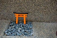 Temple miniature Photographie stock libre de droits