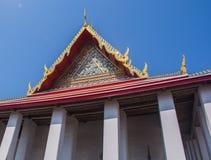 Temple modelé Thaïlande d'église Images stock