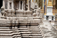 Temple model Royalty Free Stock Images