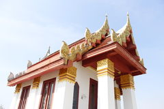 Temple_Mojoporprachin. Temple in Prachinbury, Thailand stock image
