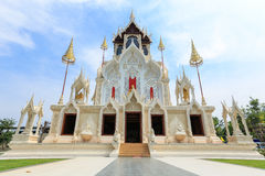 Temple,monastery,archaeological. Temple monastery is image of buddha in thailand Royalty Free Stock Photos