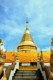 Temple. Or monastery is a Buddhist monastery in Thailand. As that of a monk And of worship of Buddhists stock photography