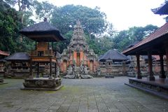 A temple at Monkey forest Royalty Free Stock Photography