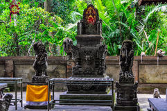 Temple in Monkey Forest in Ubud, Bali Royalty Free Stock Images