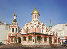 the Church of the Kazan icon of the mother of God Stock Photos