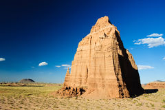 Temple of the Moon, Cathedral Valley Royalty Free Stock Photo