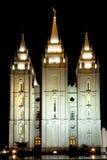 Temple mormon photo stock