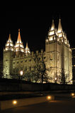 temple mormon Photographie stock