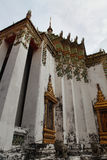 Temple with mosaic in Thailand Stock Photography