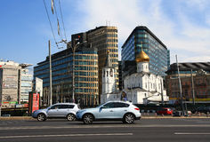 Temple in Moscow. Royalty Free Stock Photos