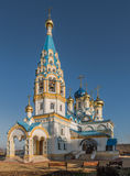 Temple of the Mother of God Stock Image