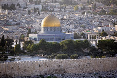 Temple Mount Royalty Free Stock Photography