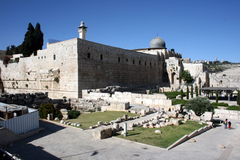 The Temple Mount Stock Image