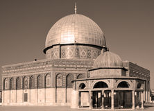 Temple Mount Immagini Stock