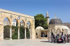 Temple Mount complex in Jerusalem, Israel Stock Image