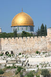 Temple Mount, Dome of the Rock Royalty Free Stock Images