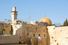 The Temple Mount in Jerusalem Stock Photography
