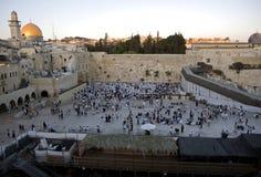 Temple mount in Jerusalem Stock Photo