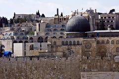 Temple mount in Jerusalem Stock Images