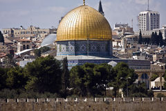 Temple mount in Jerusalem Royalty Free Stock Photos