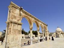 Temple Mount, Jerusalem. Royalty Free Stock Photo