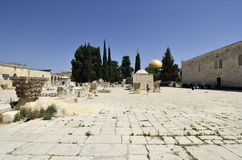 Temple Mount in Jerusalem. Royalty Free Stock Image
