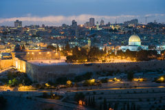 Temple mount in Jerusalem Stock Photo