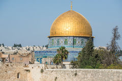 Temple Mount in Jerusalem Stock Photography