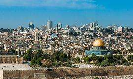 The Temple Mount, Jerusalem, Israel Royalty Free Stock Image