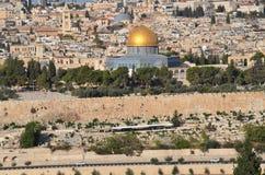 Temple Mount. JERUSALEM ISRAEL 23 10 16: Temple Mount known as the the Noble Sanctuary of Jerusalem located in the Old City of Jerusalem, is one of the most Stock Photo