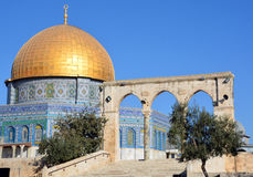 Temple Mount Stock Photography
