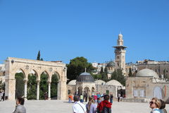 Temple Mount - Jerusalem - Israel Stock Image
