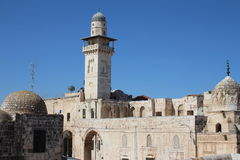 Temple Mount - Jerusalem - Israel Stock Photos