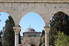 Temple Mount - Jerusalem - Israel Royalty Free Stock Photos