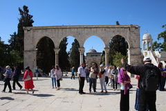 Temple Mount - Jerusalem - Israel Stock Photo