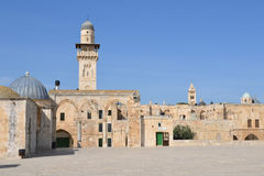 Temple Mount Royalty Free Stock Images