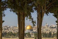 Temple Mount Stock Photo