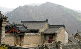 Temple in the mountain. Ancient temple in the mountain Stock Images