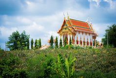 Temple on mountain. Royalty Free Stock Photography