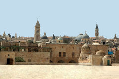 Temple mountain in Jerusalem Royalty Free Stock Images