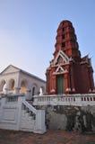 Temple on the mountain Royalty Free Stock Photos